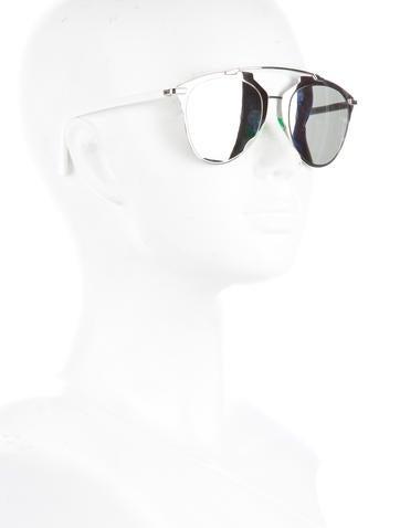 Reflected Logo Sunglasses