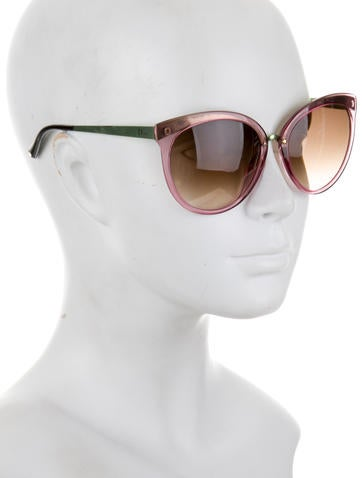 Oversize Translucent Sunglasses
