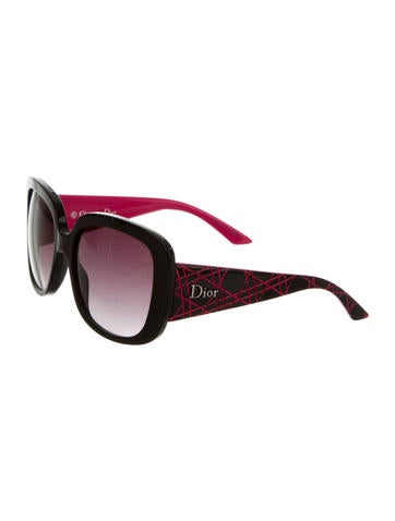 bac158bc522 Christian Dior Lady Lady 1 Cannage Sunglasses - Accessories - CHR43556
