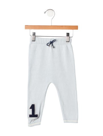 Christian Dior Boys' Rib Knit Pants None