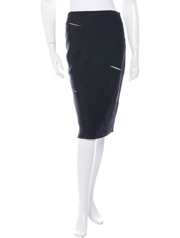 Christian Dior Bandage Pencil Skirt