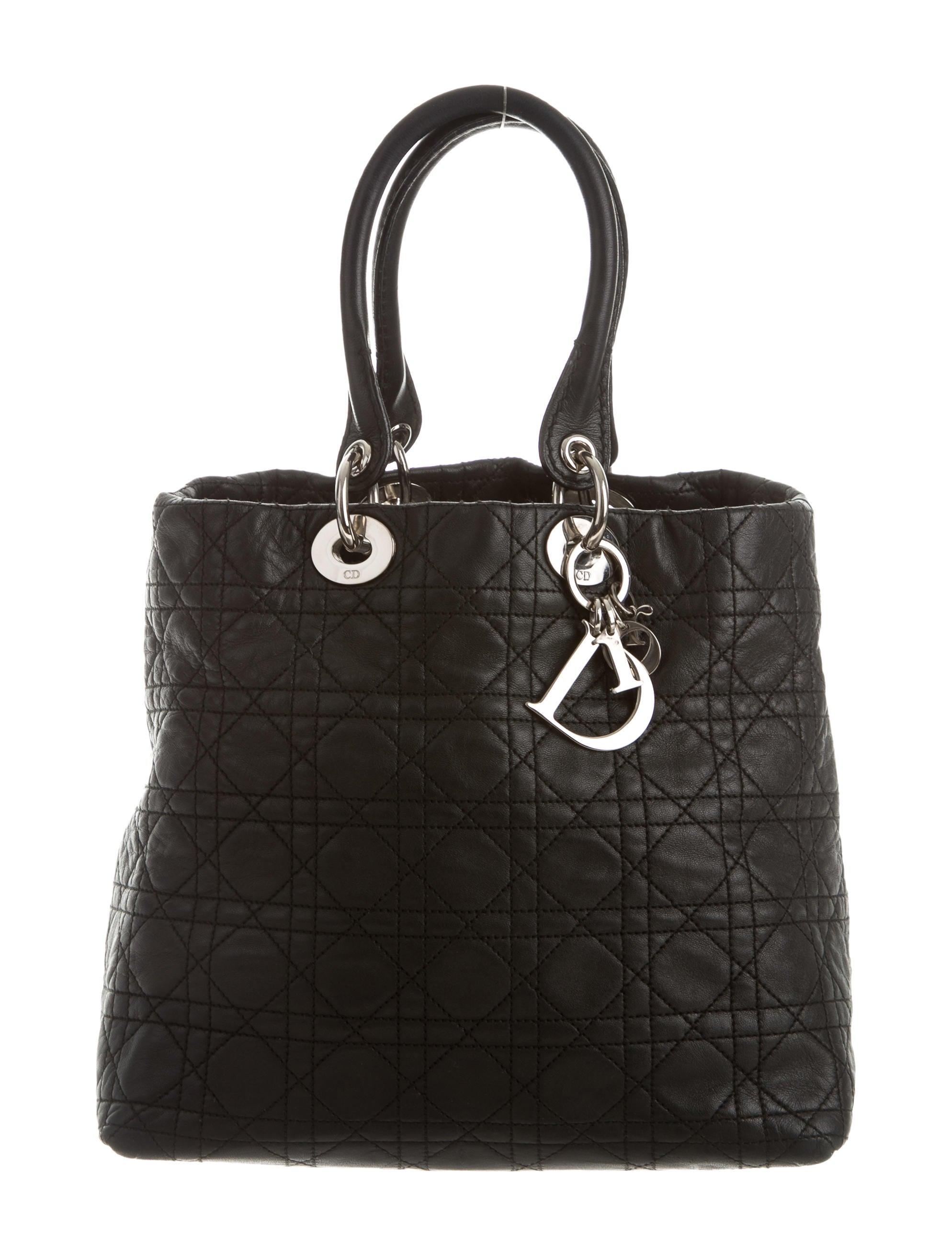 Christian Dior Soft Lady Dior Tote - Handbags - CHR44120 ...