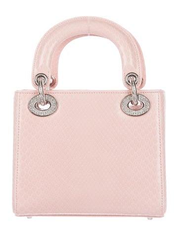 Mini Python Lady Dior Bag