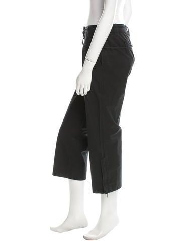 Cropped Wide-Leg Panta