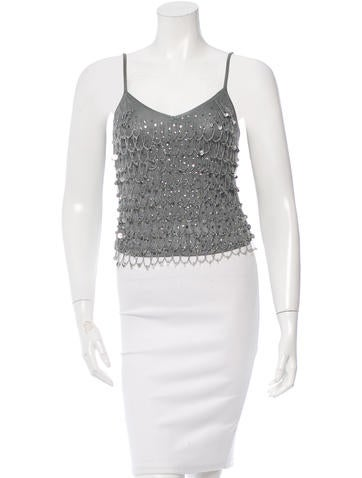 Christian Dior Embellished Top None