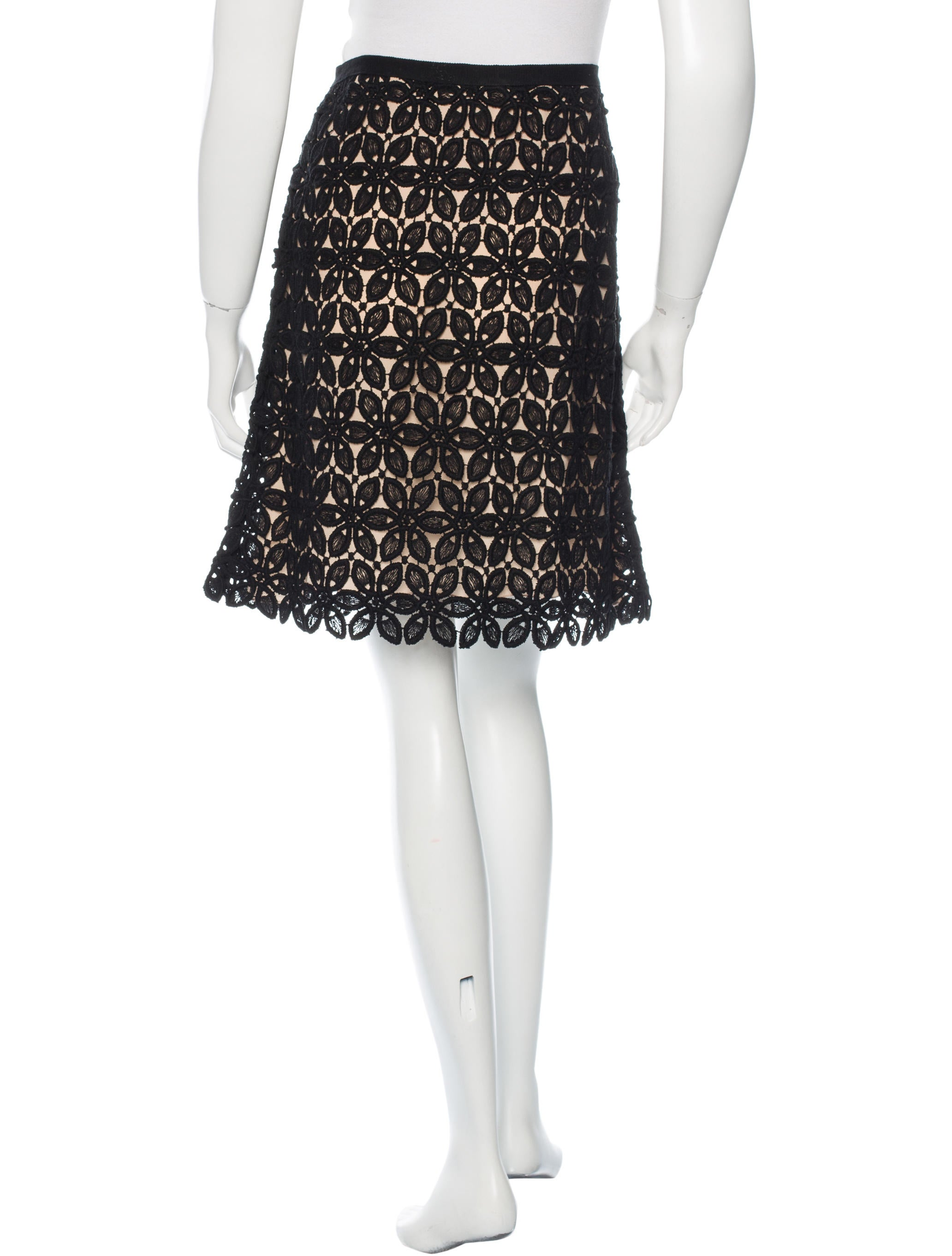 christian crochet pencil skirt clothing chr45102