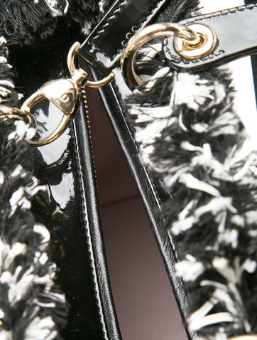 Tweed Medium Lady Dior Bag