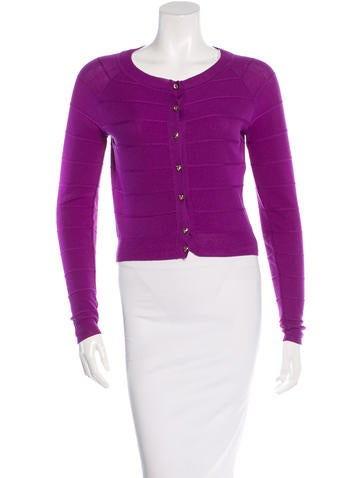 Christian Dior Wool Cropped Cardigan None
