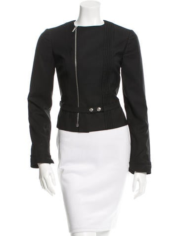 Christian Dior Fitted Belted Jacket