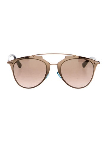 Metallic Reflected Sunglasses