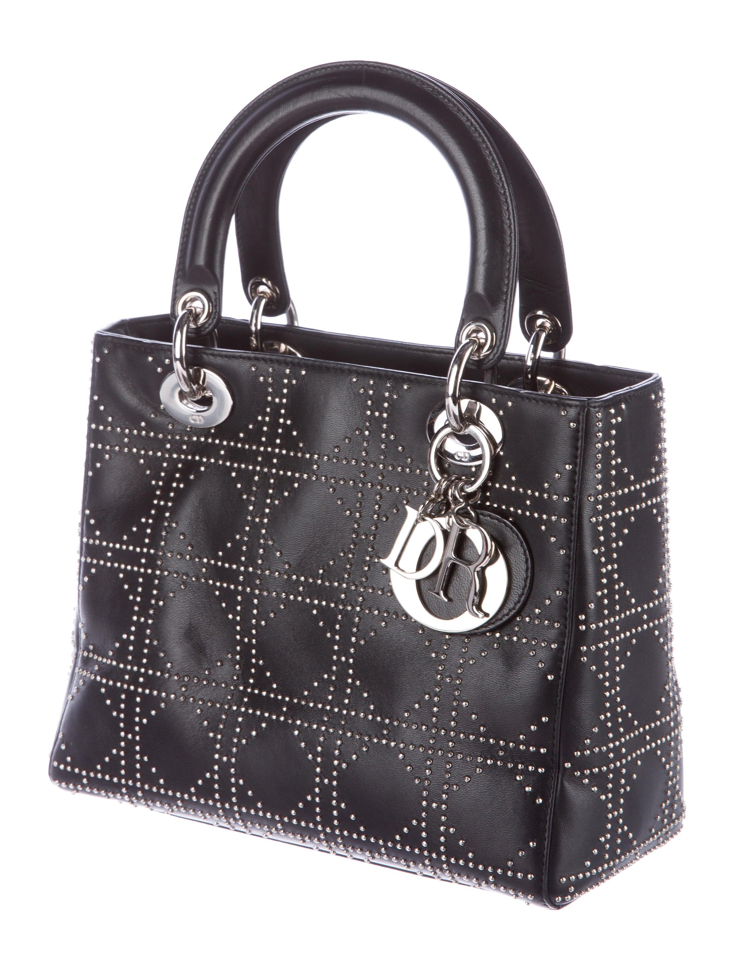 Studded Medium Lady Dior Bag