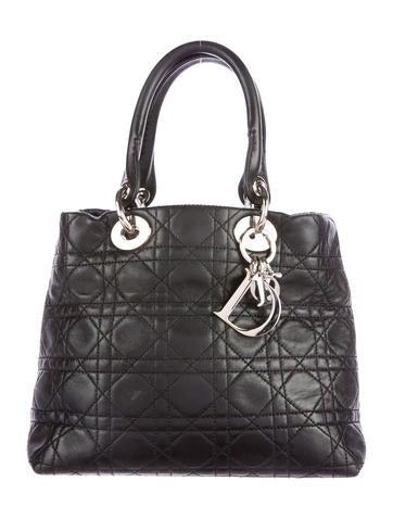 Christian Dior Soft Medium Lady Dior Bag - Handbags ...