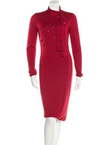 Christian Dior Cashmere Sweater Dress None