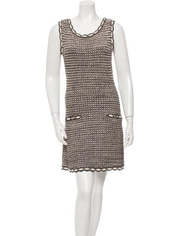 Christian Dior Patterned Silk Dress None