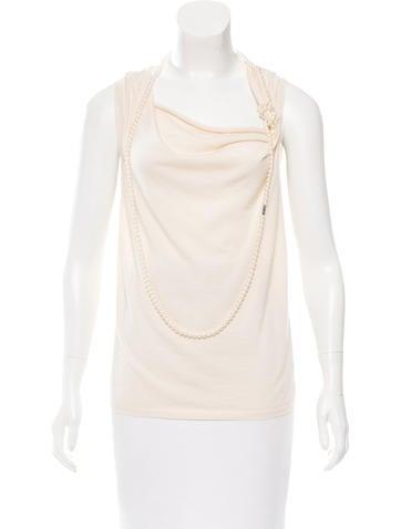 Christian Dior Cashmere & Silk Sweater None