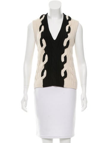 Christian Dior Wool Cable Knit Sweater w/ Tags None