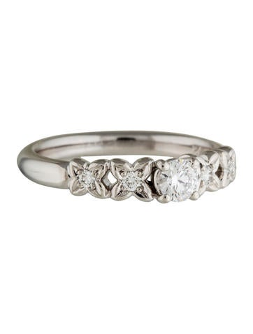 Christian Dior Platinum Diamond Ring None