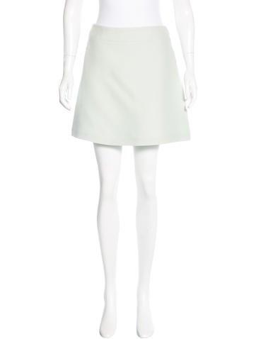 Christian Dior Wool Mini Skirt None
