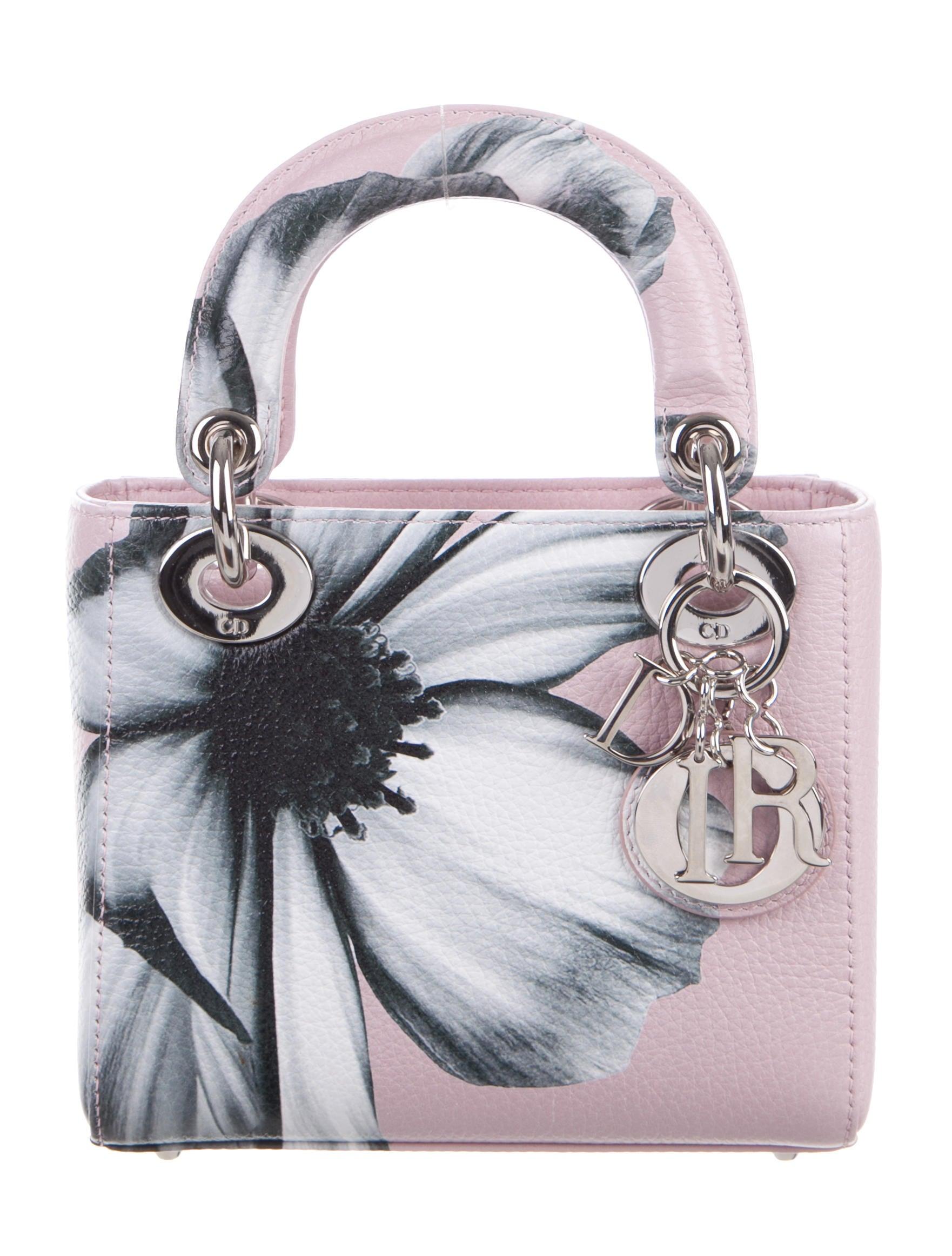 christian dior mini lady dior bag handbags chr48828 the realreal. Black Bedroom Furniture Sets. Home Design Ideas