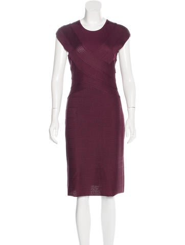 Christian Dior Midi Knit Dress None