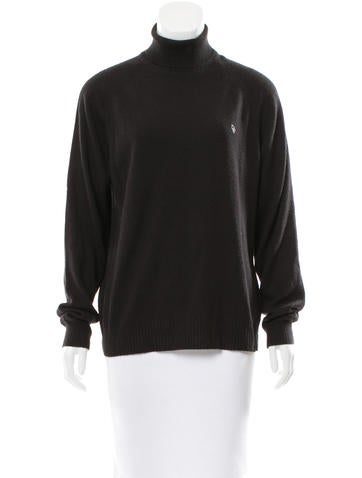 Christian Dior Long Sleeve Turtleneck Top None
