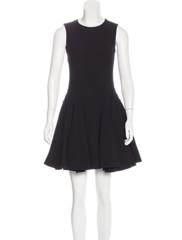 Christian Dior Wool A-Line Dress None