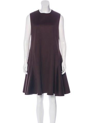 Christian Dior Cashmere A-Line Dress None