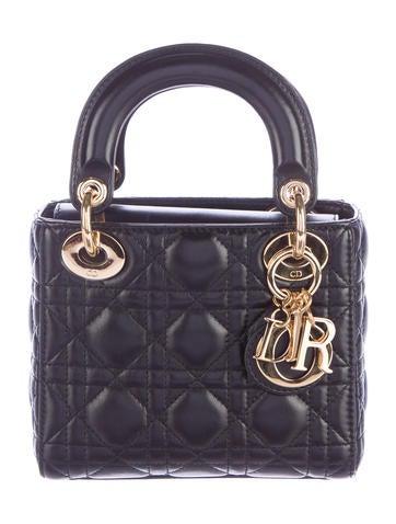 Mini Cannage Lady Dior Bag