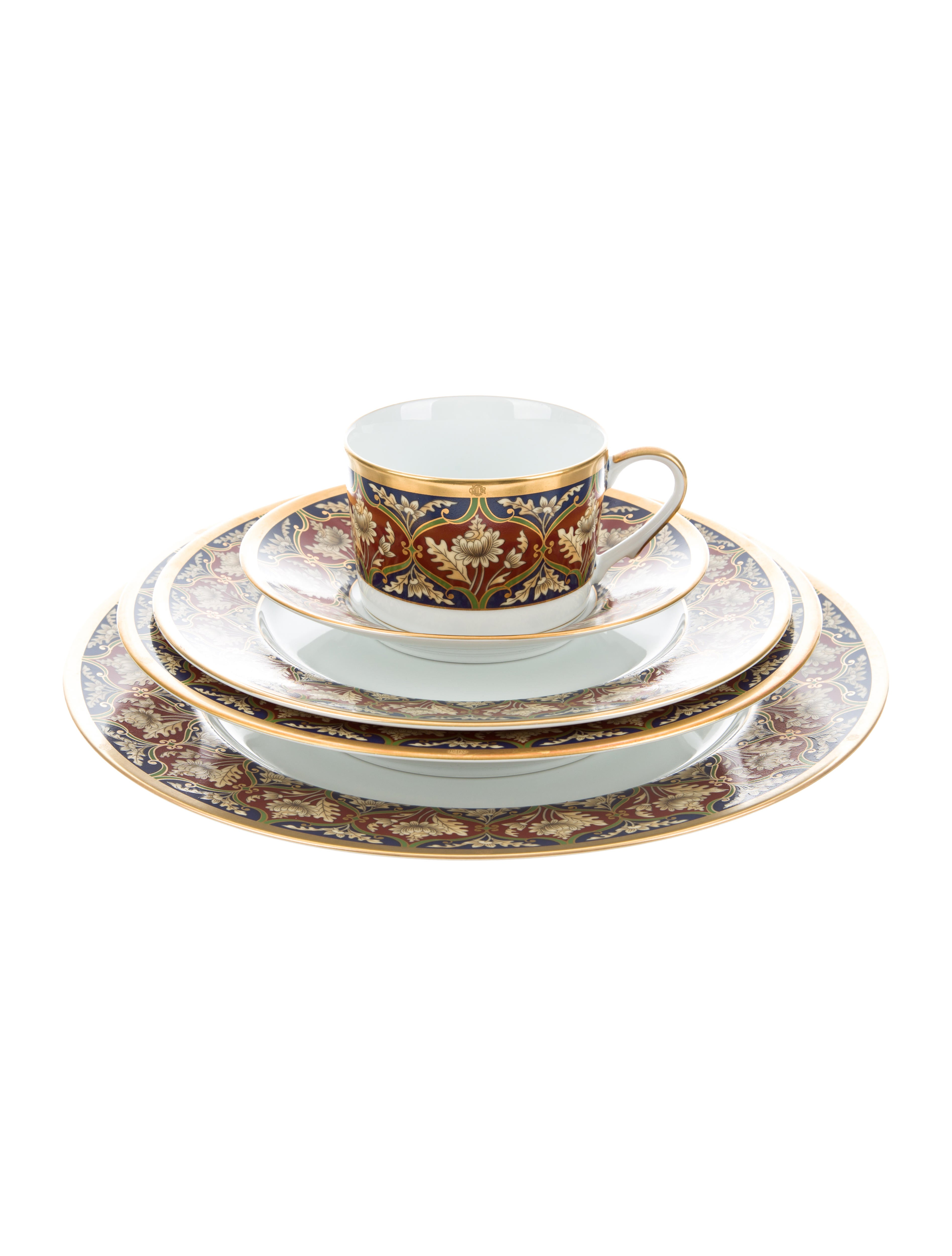 56-Piece Tabriz Partial-Table Service  sc 1 st  The RealReal & Christian Dior 56-Piece Tabriz Partial-Table Service - Tabletop And ...