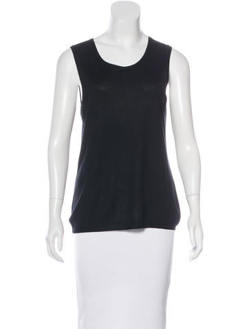 Christian Dior Silk & Wool-Blend Top None