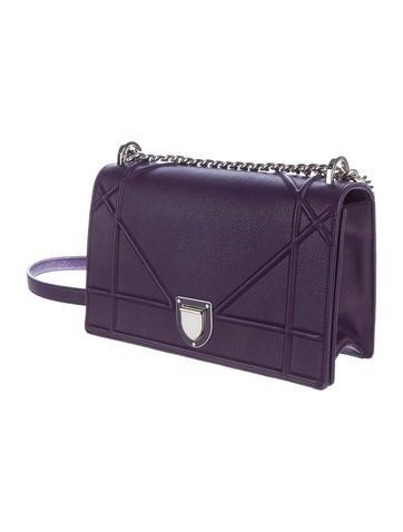 Calfskin Diorama Flap Bag