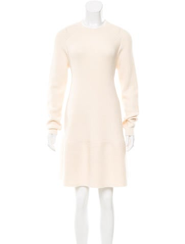 Christian Dior Wool Sweater Dress None