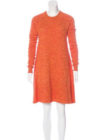 Christian Dior Cashmere Swing Dress None