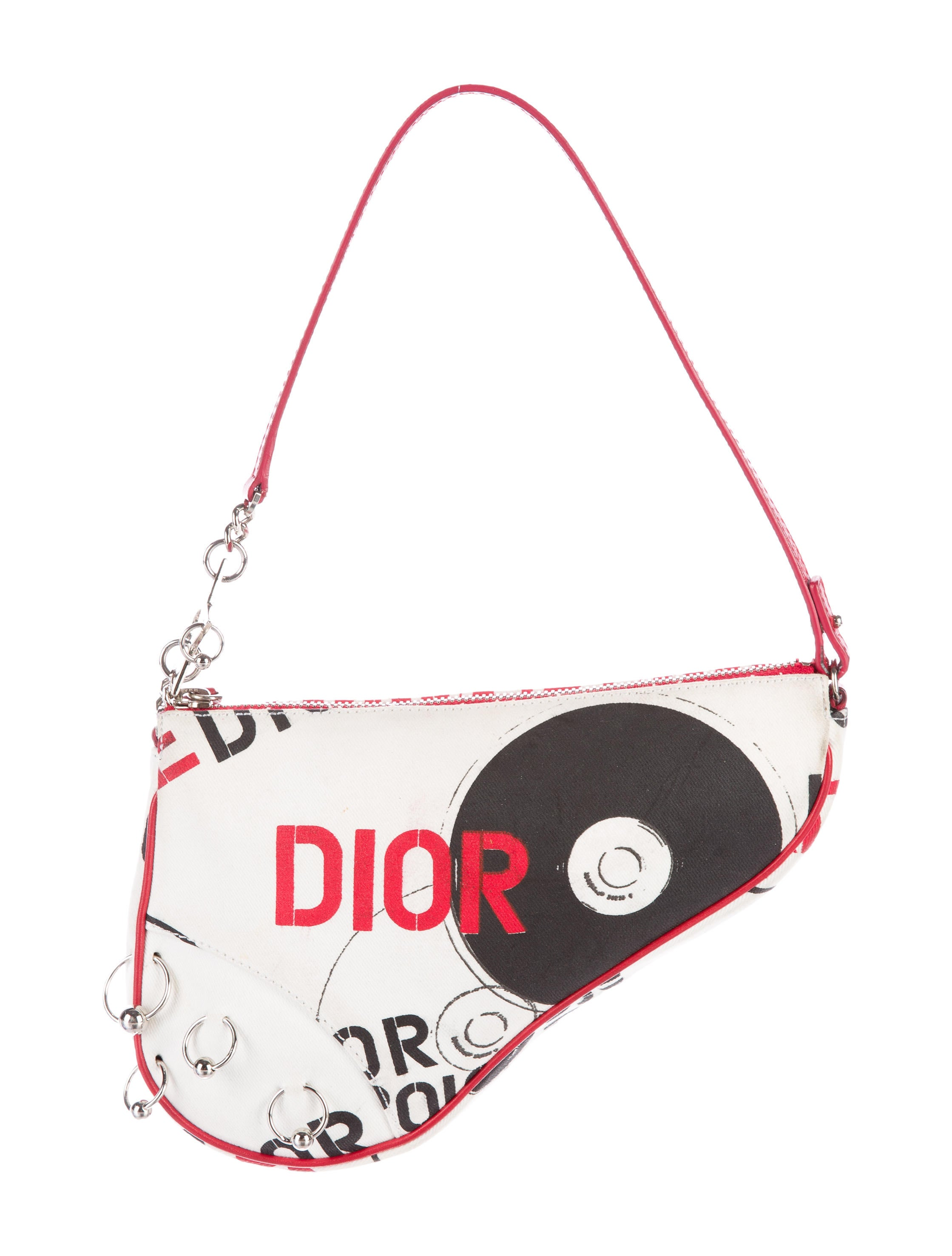 65f517de4097 Christian Dior Hardcore Mini Saddle Bag - Handbags - CHR50418
