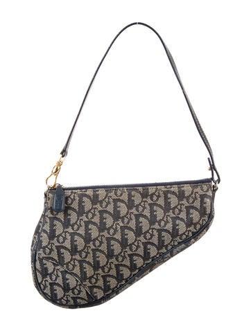 Christian Dior Mini Diorissimo Saddle Bag