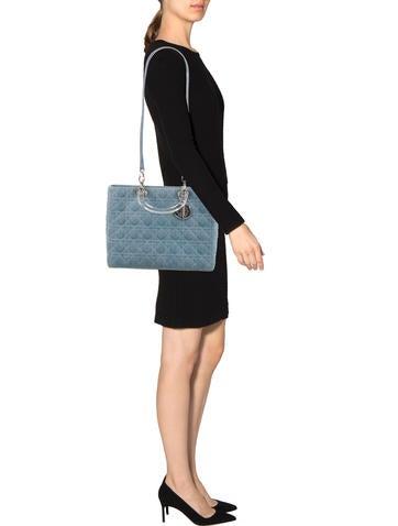 Cannage Denim Lady Dior