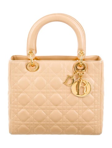 Christian Dior Medium Lady Dior Bag None