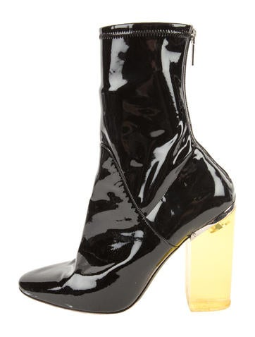 2015 Lucite Ankle Boots