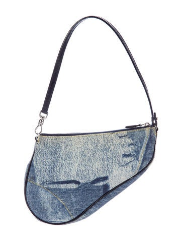 Denim Saddle Bag