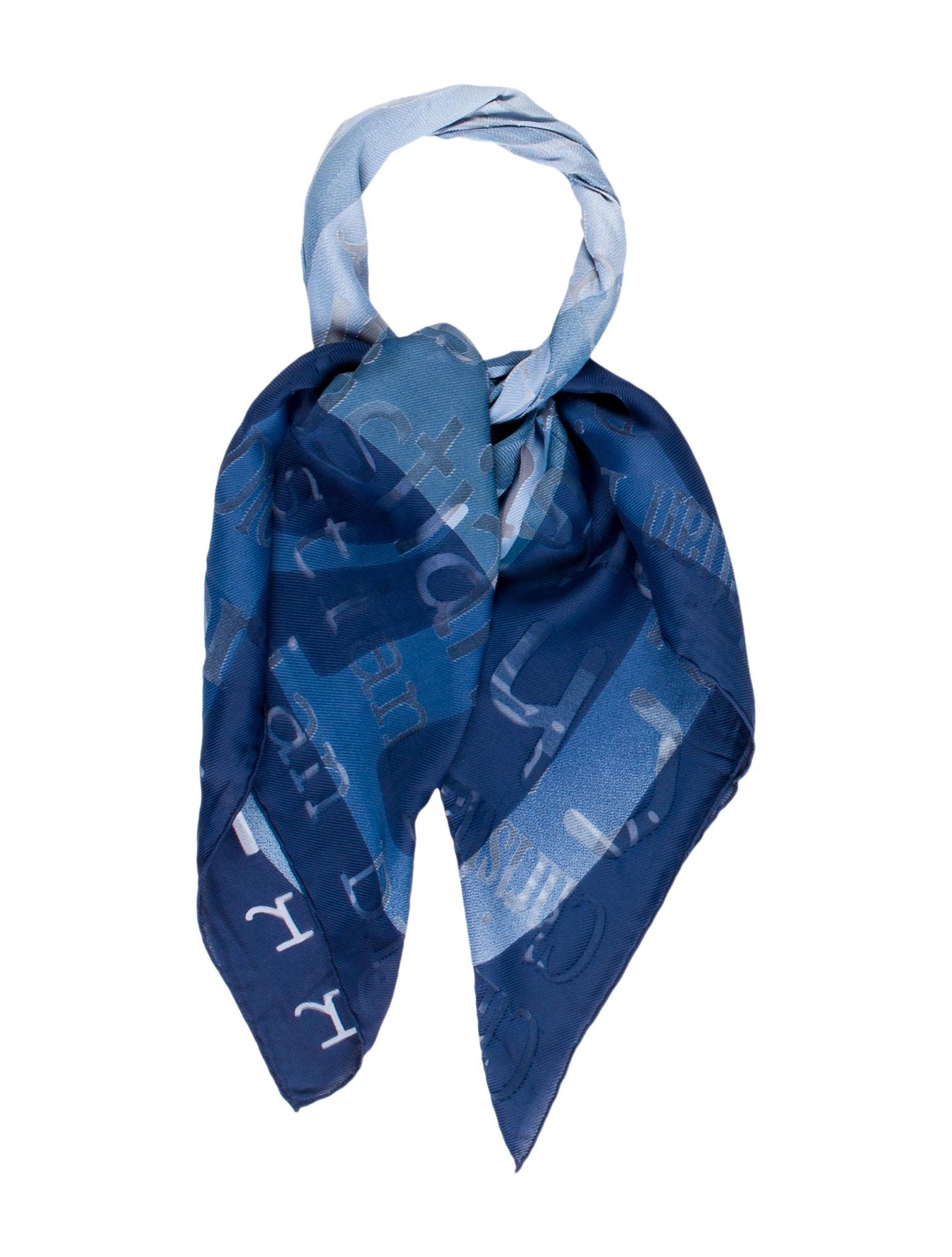 christian lightweight logo scarf accessories