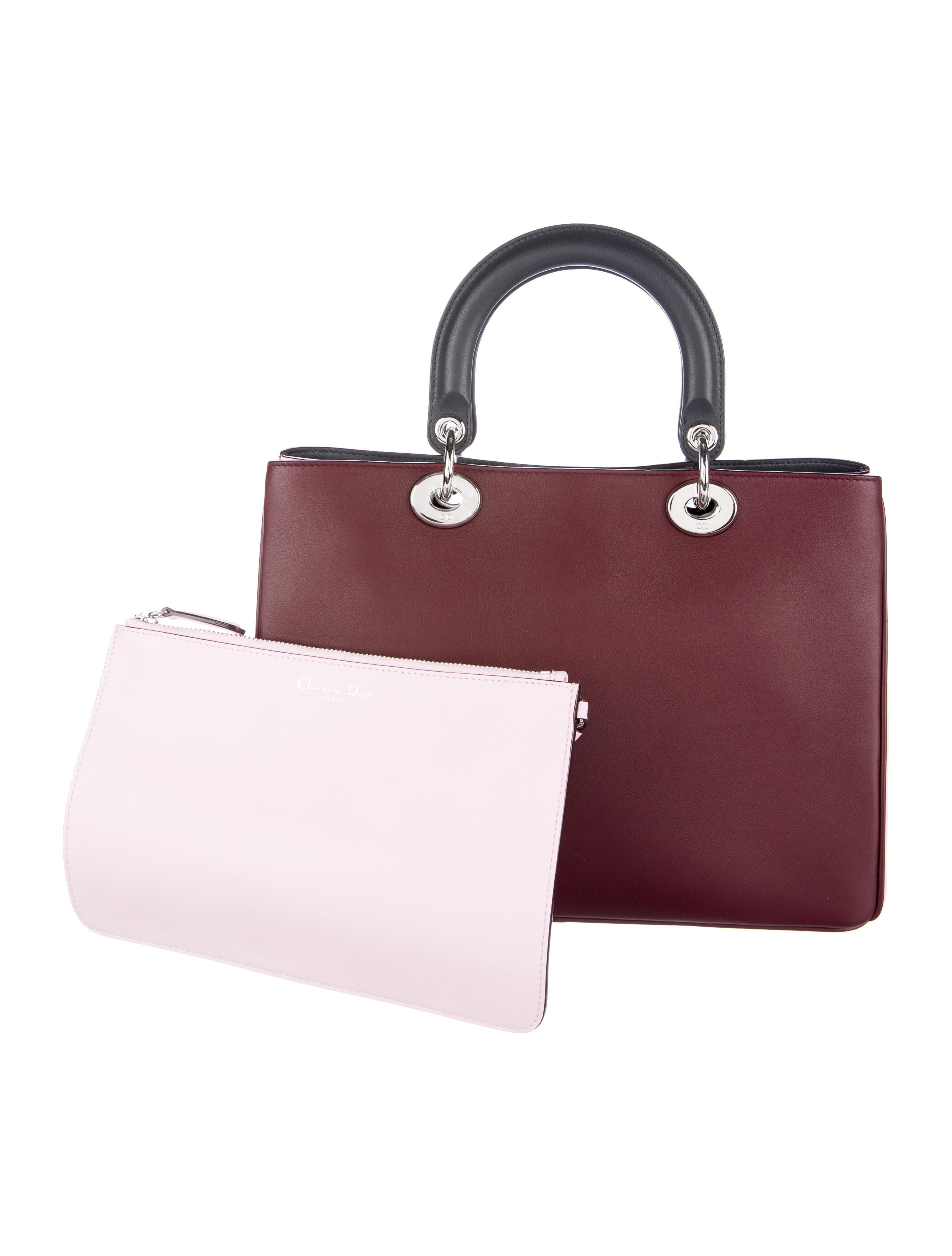 Christian Dior Medium Diorissimo Bag - Handbags - CHR52488 ...
