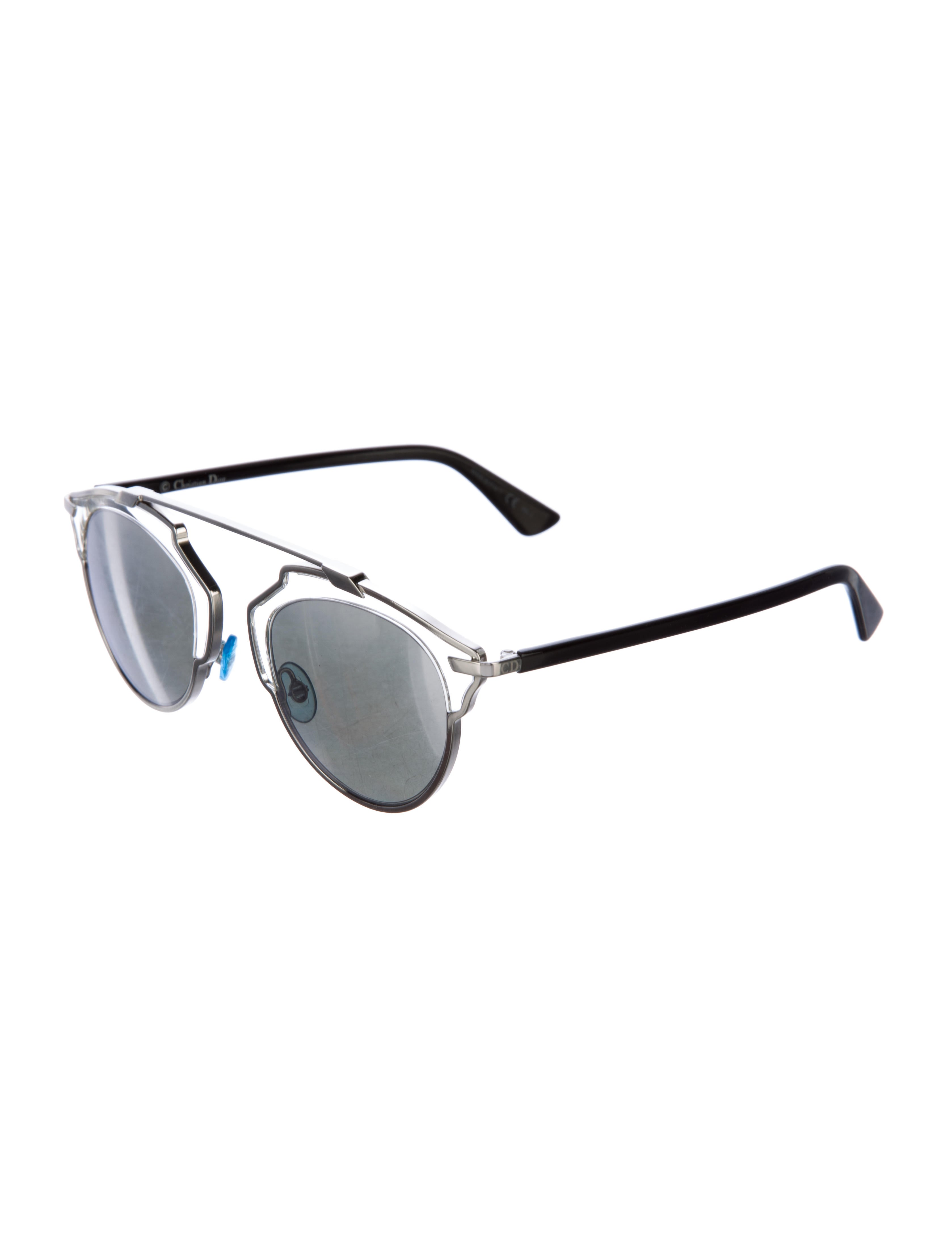 a27276603c30 Christian Dior Dior So Real Mirrored Sunglasses - Accessories - CHR52636