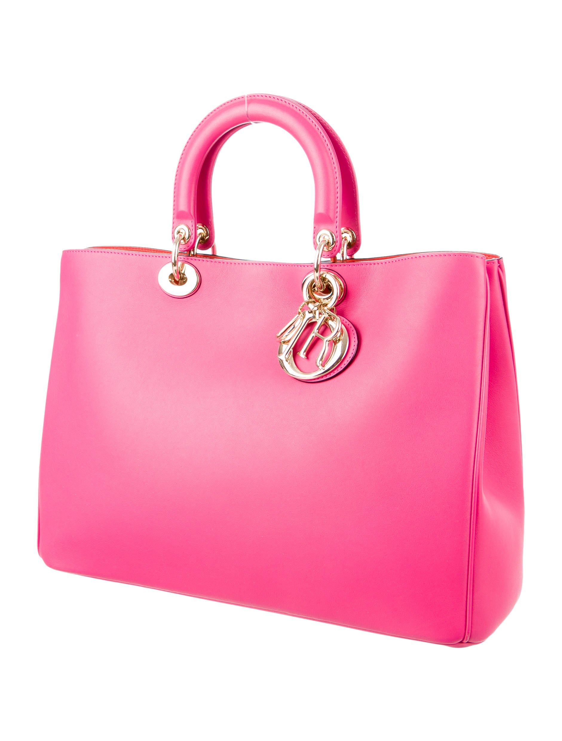 Simple Christian Dior Medium Bar Bag  Handbags  CHR36830  The RealReal