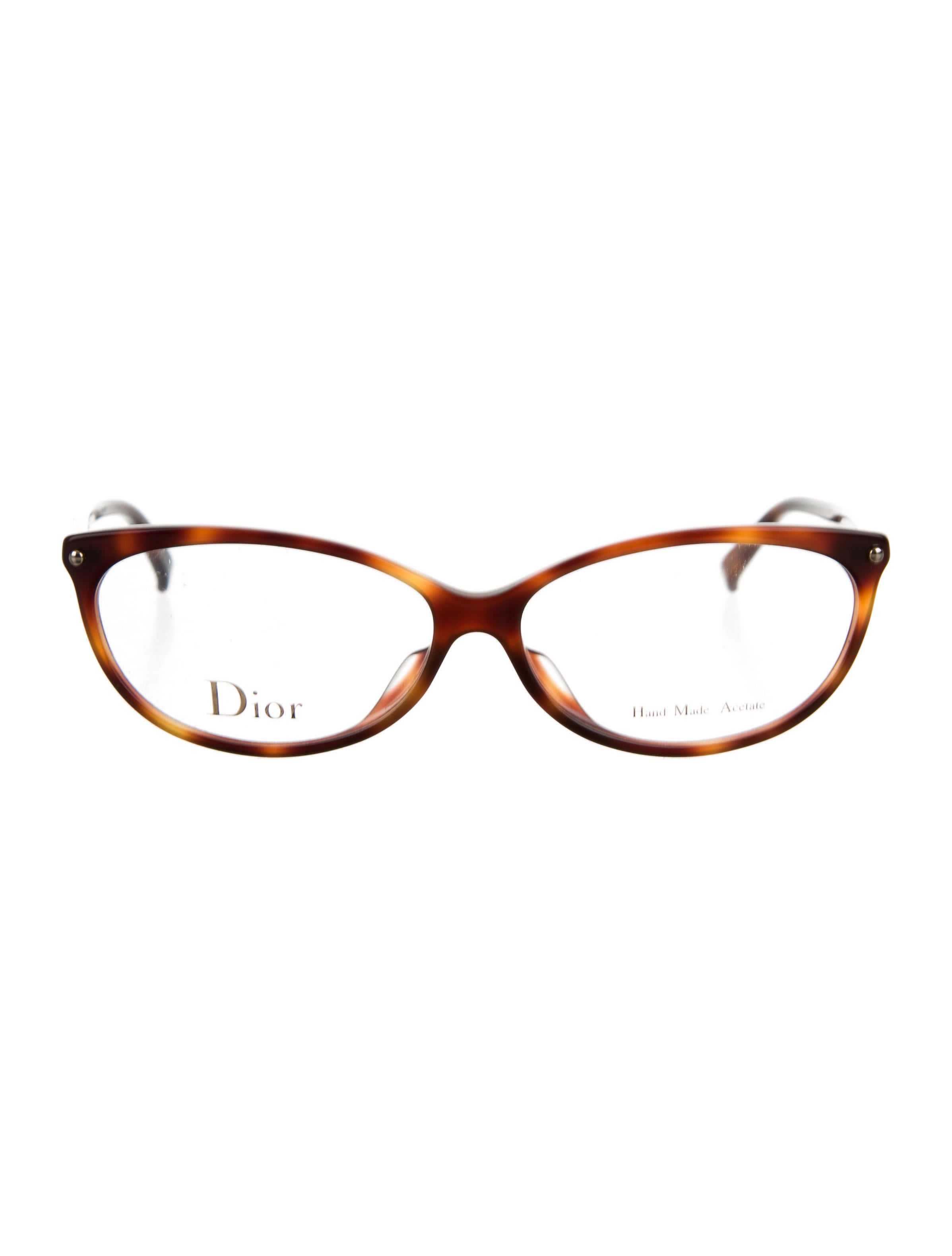 christian tortoiseshell logo eyeglasses accessories