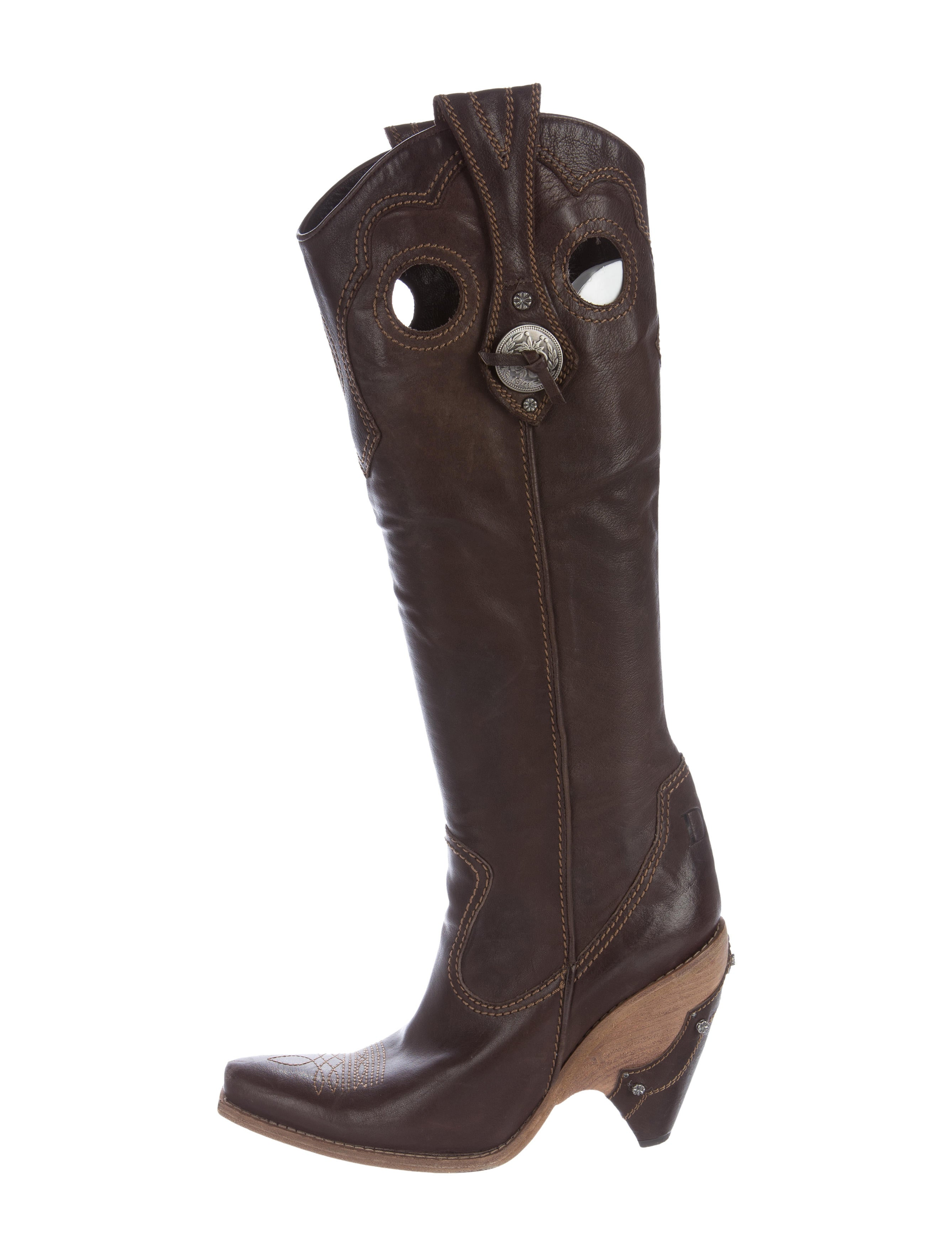 christian knee high cowboy boots shoes chr53280