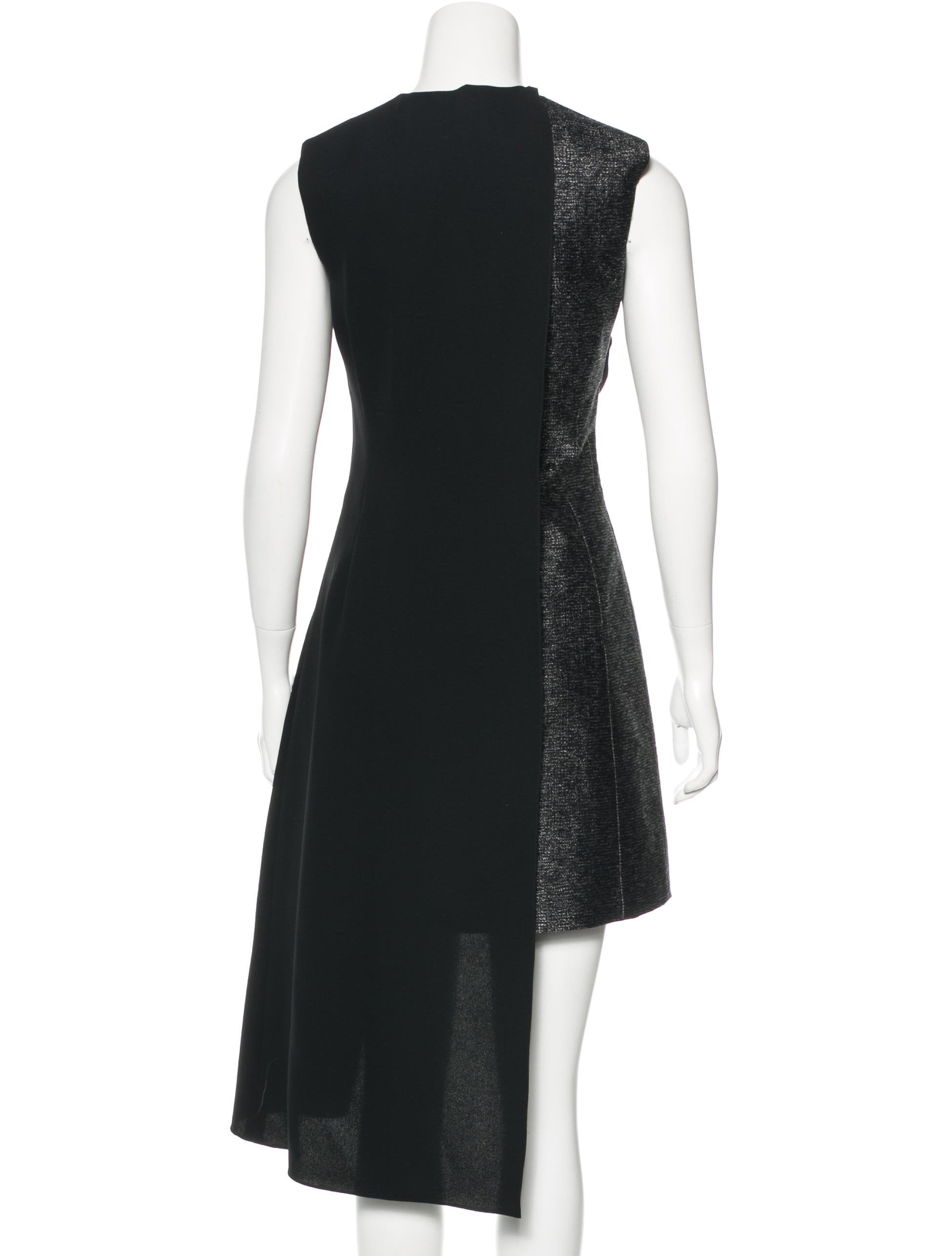 Christian Dior Layered Tweed Dress Clothing Chr53294