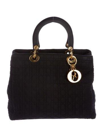 Christian Dior Nylon Lady Dior Bag None