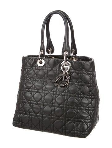 Christian Dior Small Soft Lady Dior Bag - Handbags ...