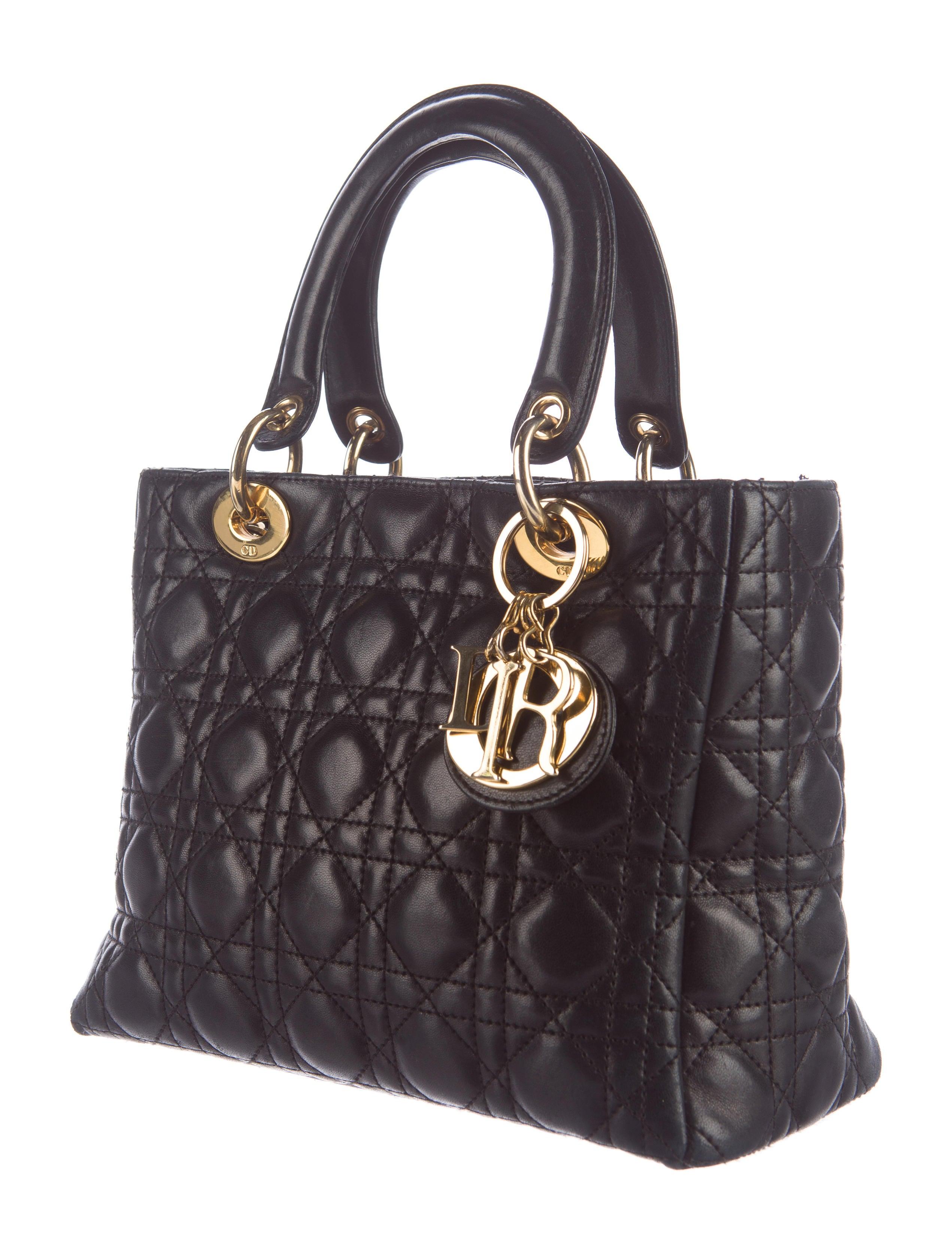 Christian Dior Medium Lady Dior Bag Handbags Chr53654