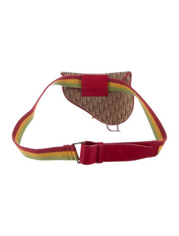 Diorissimo Rasta Saddle Waist Bag